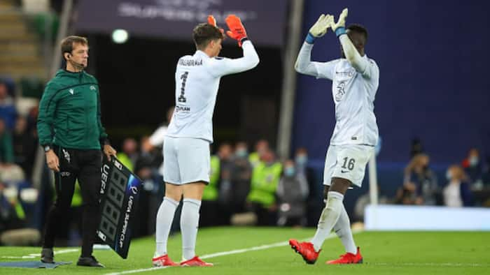 Tuchel finally reveals why he replaced Mendy with Kepa during super cup penalty shootout