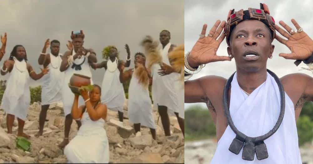 Botoe: Shatta Wale drops first song in all Ga; tells culture and traditions of Ga people