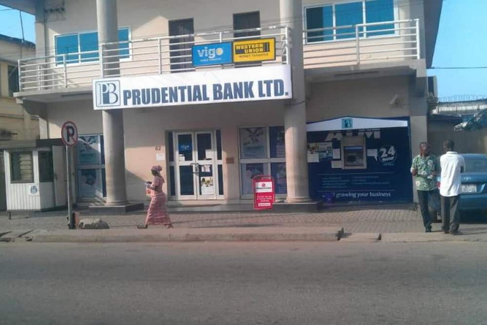 Prudential Bank Ghana branches