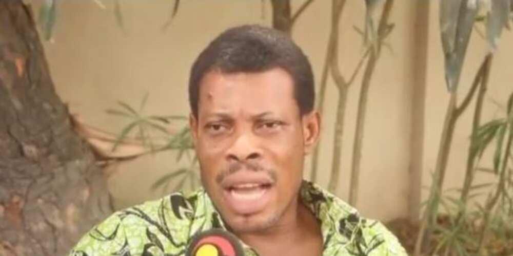 Sad photo pops up of Veteran actor waakye suffering from stroke