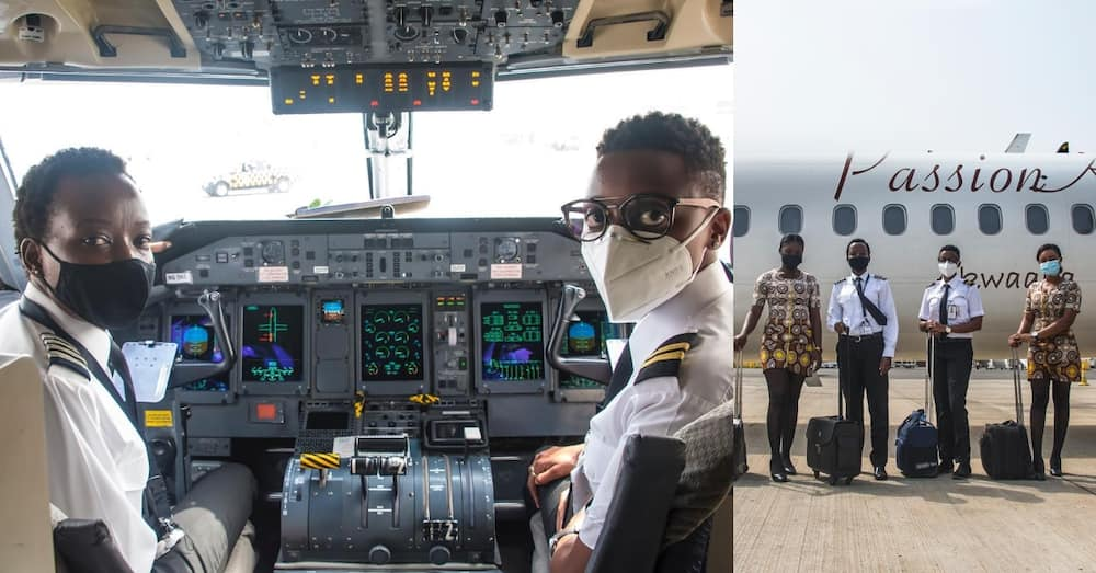 PassionAir: Accra to Tamale flight uses all-female crew from flight deck to cabin