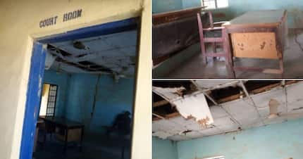 Man shows deteriorating state of a magistrate court and it is sad (Photos)