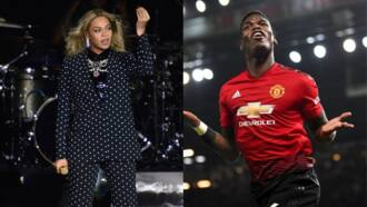 Who is more popular between Beyonce and Manchester United star Paul Pogba