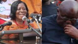 Akufo-Addo mourns the death of Ama Benyiwa Doe; says she was a good friend