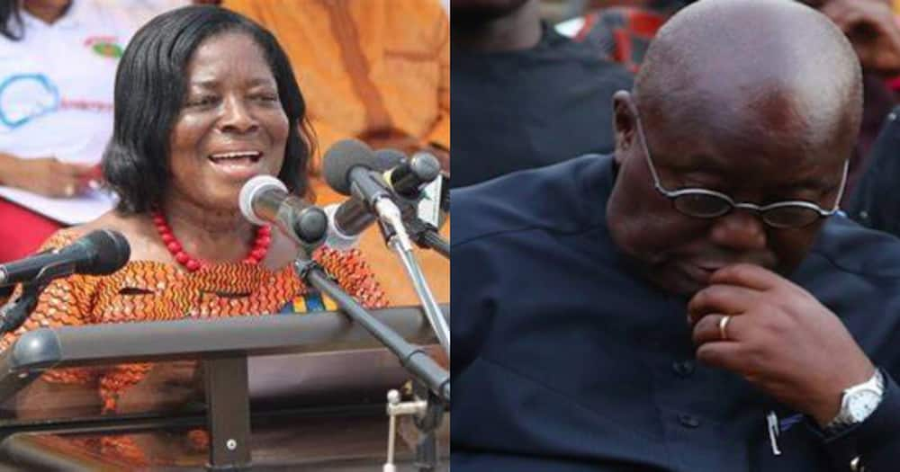 Akufo-Addo mourns the death of Ama Benyiwaa Doe; says she was a good friend