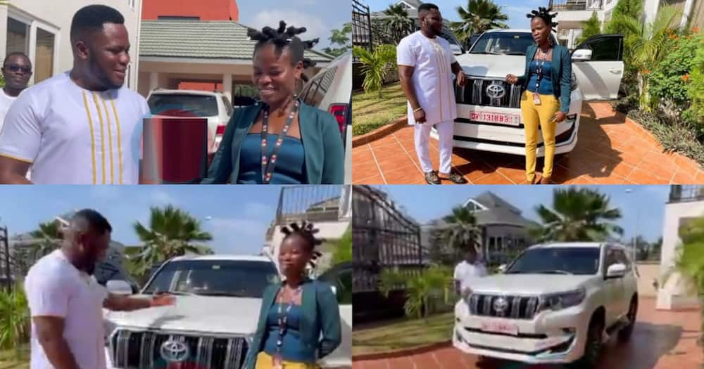 Ohemaa Woyeje says her best days in Media are with Angel FM After car Gift from Kwaku Oteng