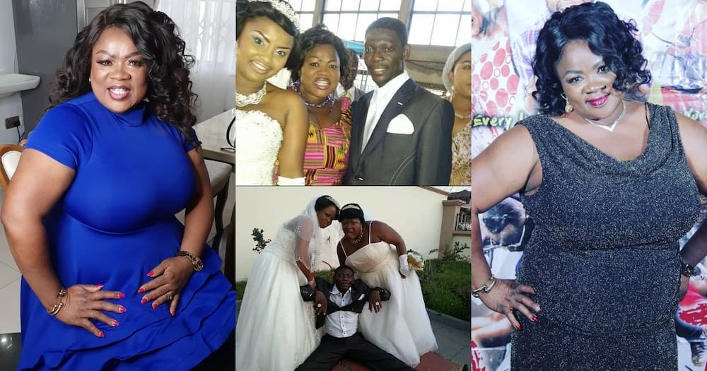 Mercy Asiedu: Kumawood Actress Shares Old Wedding Photos Of Agya Koo, McBrown & Lil Win; Stirs Nostalgia