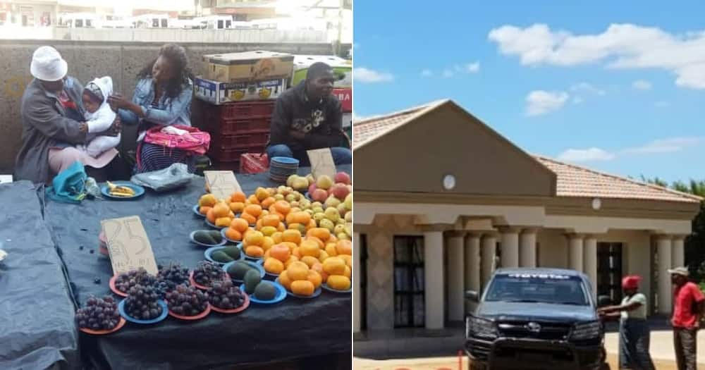 Proud siblings buy their mother, who sold fruit, brand new house