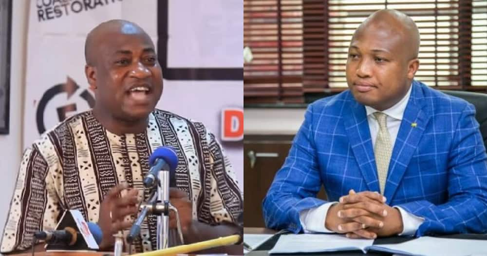 You are being a hypocrite on vehicle loans for MPs - Ablakwa 'lashed' by Murtala Muhammed