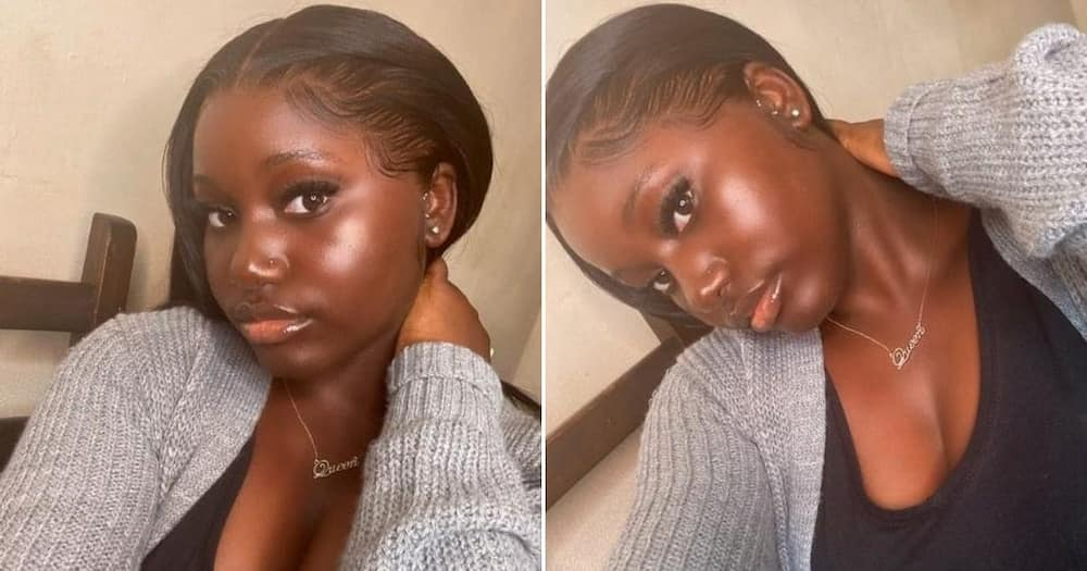 Woman proudly flaunts her dark skin, posts snaps and goes viral