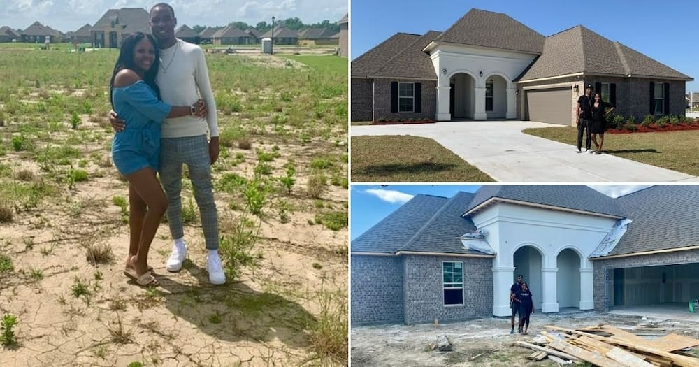 Nurse and her husband build themselves a mansion, share photos online