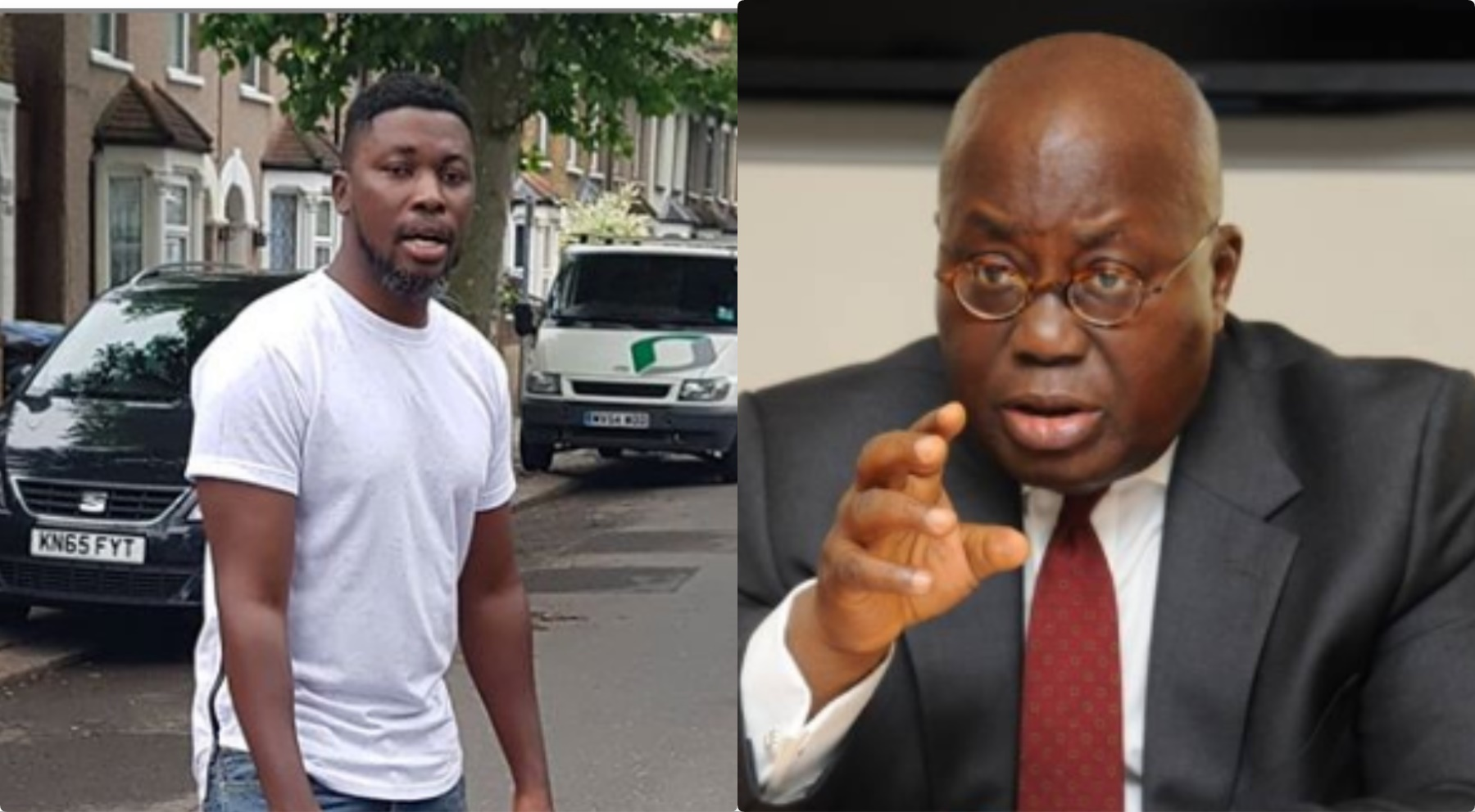 Sɛ wagye wani so - A Plus mocks Akufo-Addo over 'life support' Free SHS, and other policies