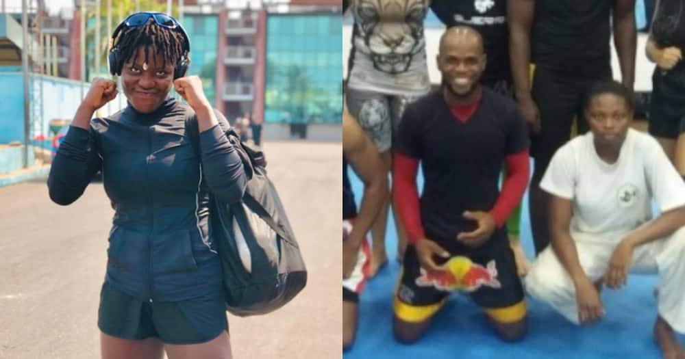 Sylvia Dogah: The first-ever Ghanaian female kickboxer to participate in international tournament