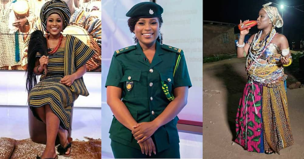 5 photos that shows how versatile Berla Mundi is when it comes to her job