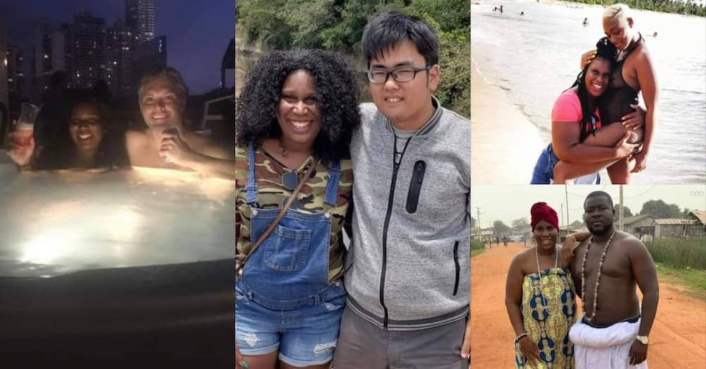 Lady shows off her 19 lovers from 15 different countries; one is father of her kids