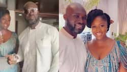 """""""Take off the glasses"""" - Video of Akufo-Addo's daughter instructing her husband pops up"""