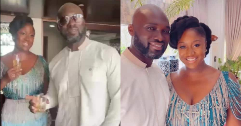 Akufo-Addo's Daughter Orders her Husband Jumah to take off his Glasses in new video