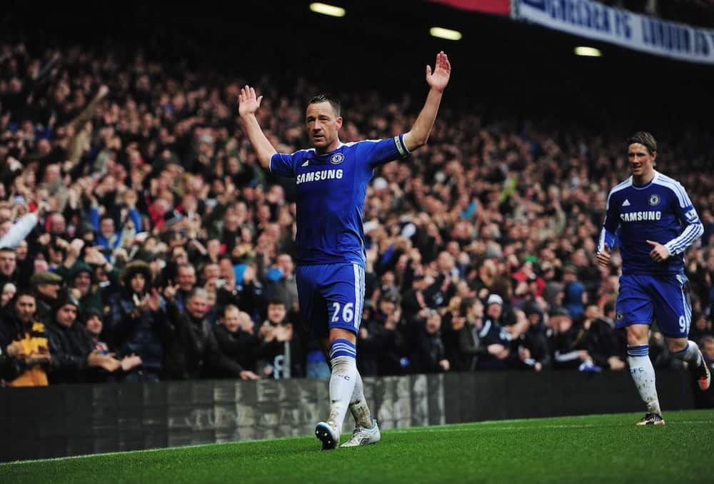 John Terry in action for Chelsea.