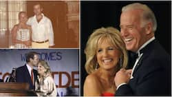 Joe Biden's wife Jill shares throwback photo of when they were young lovers