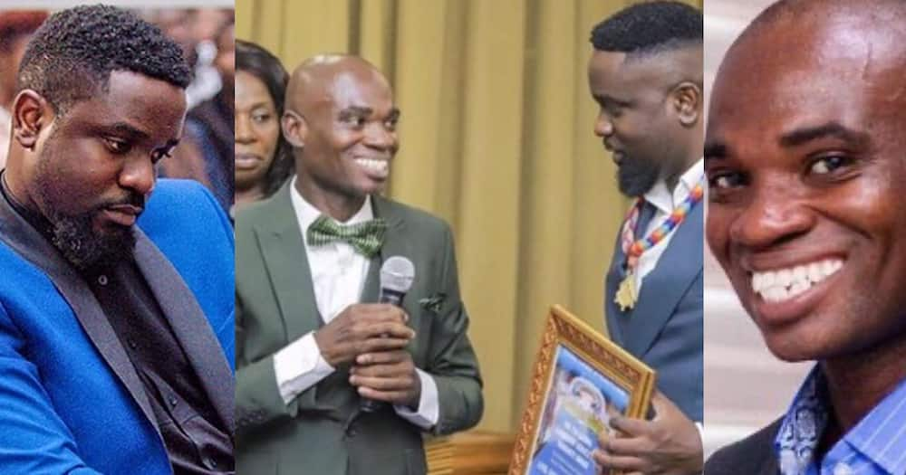 Dr UN threatens to take his fake UN Award from Sarkodie (video)