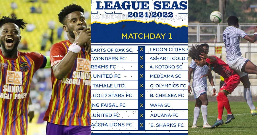 Hearts begin GPL title defence against Legon Cities as GFA release 2021/22 fixtures
