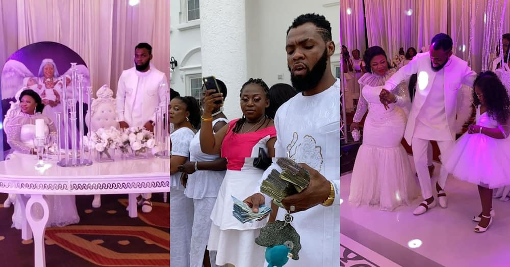 Ciara Antwi: Obofour and wife outdoor their triplets (See the best videos)