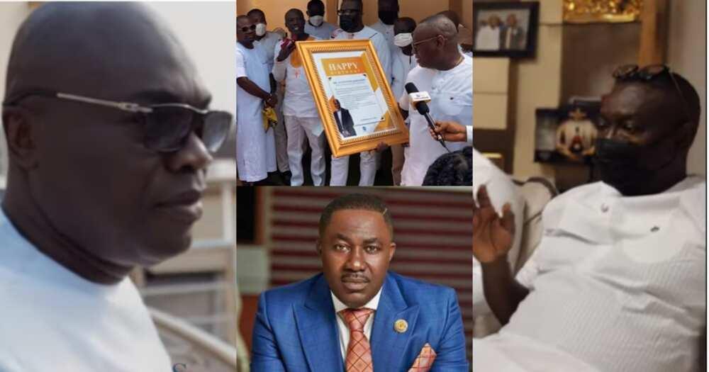 Osei Kwame Despite, Ofori Sarpong, others join K Badu at his plush b'thday party (Video)