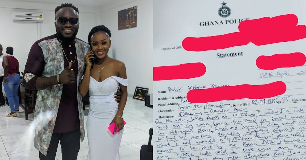 DKB Reports Akuapem Poloo To Police For Defamation; Charge Sheet Leaks Online