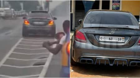 Driver who showed off Mercedes Benz in dangerous driving in video arrested