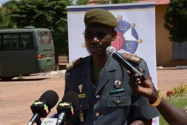 Faces of officers who led other soldiers to overthrow Malian president