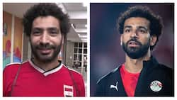 Meet Mo Salah look-alike who fans confuse for Liverpool star forward at AFCON (video)
