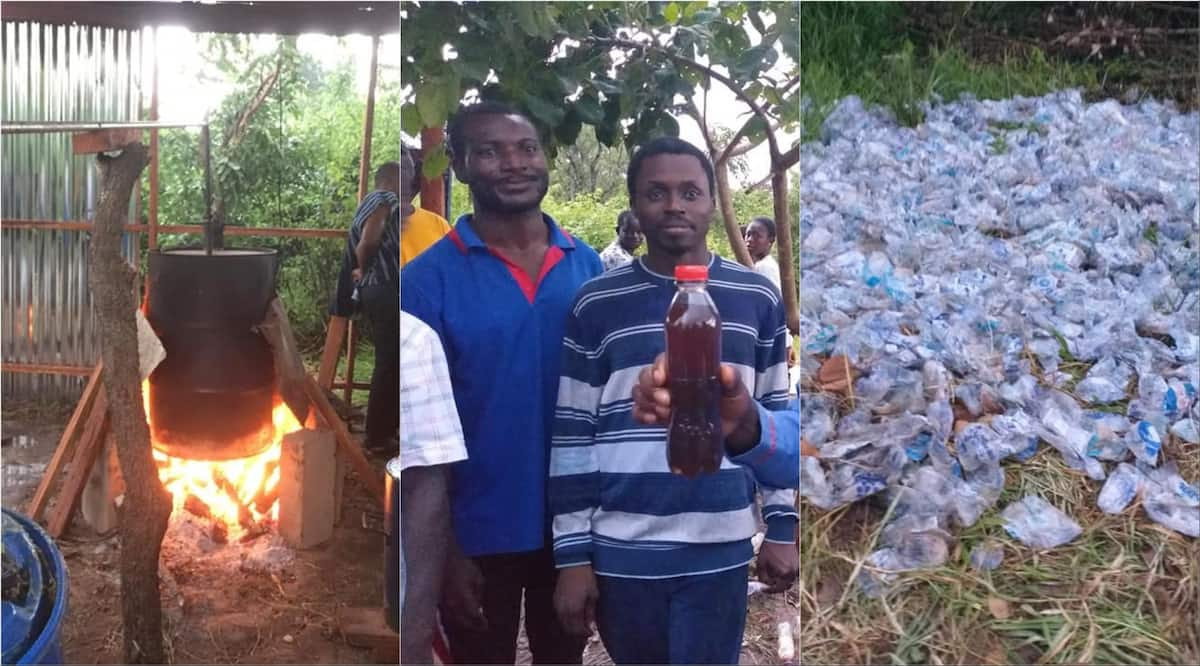 Meet young Ghanaians turning plastic waste into fuels to power cars and for households