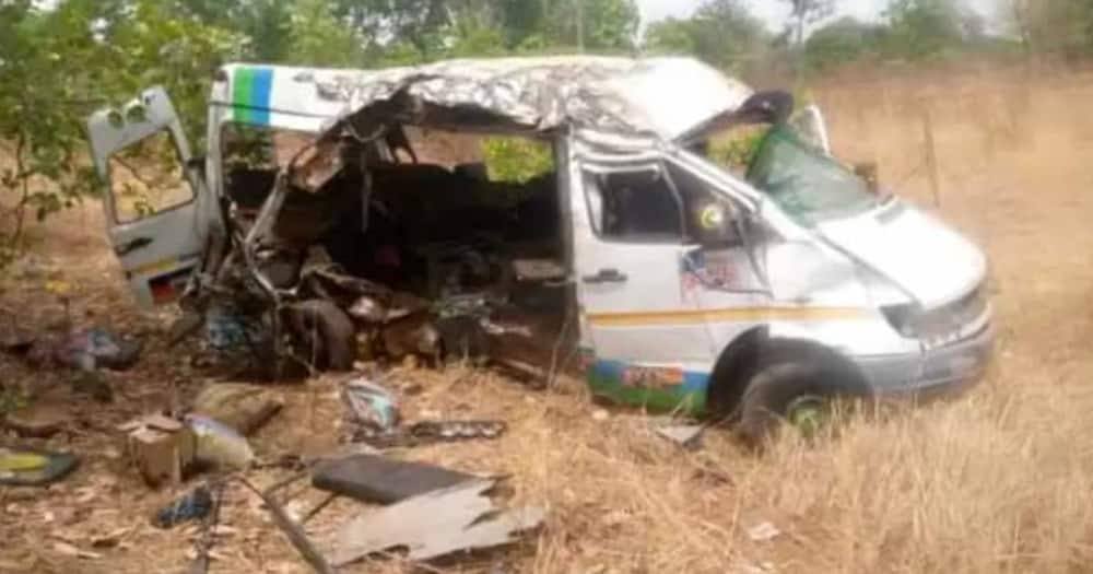 E/R: Fatal accident claims 5 lives at Obretema; scores injured