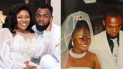 Photos of when Obofour and his wife were not rich as they celebrate 11th wedding anniversary