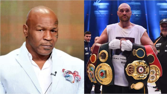 Mike Tyson analyses how he would beat undefeated champion Tyson Fury in a dream fight