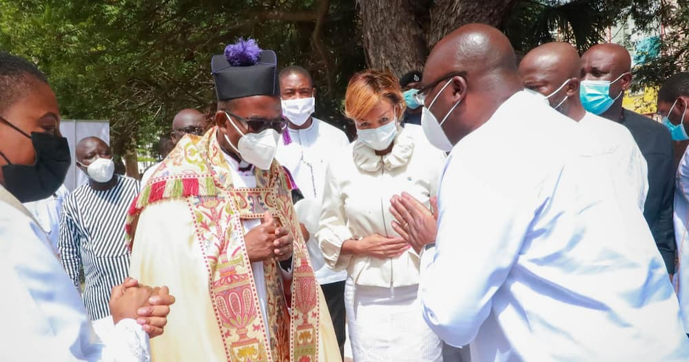 You are truly a beacon of religious tolerance; photos of Bawumia at Easter Sunday Service drops