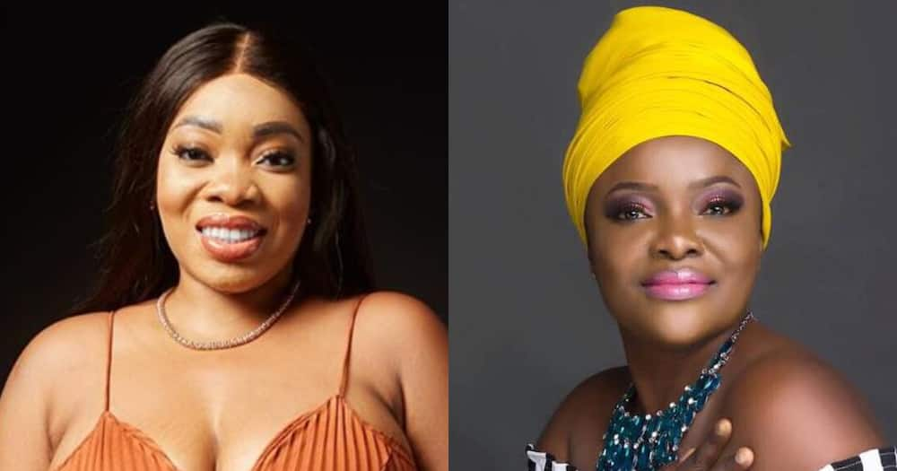 Moesha: Singer Ohemaa Mercy says God and Satan are Fighting over Actress' soul