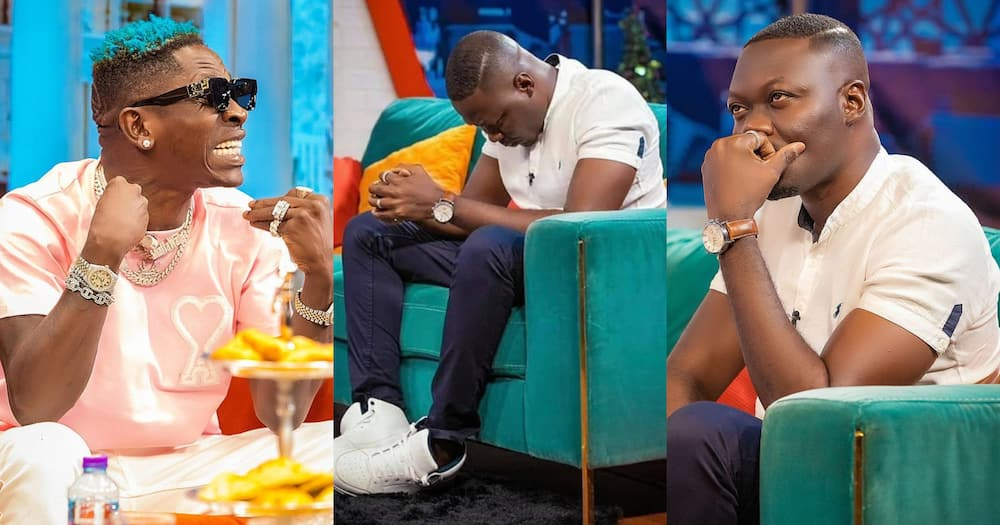 Shatta Wale clashes with Arnold on McBrown's show on UTV