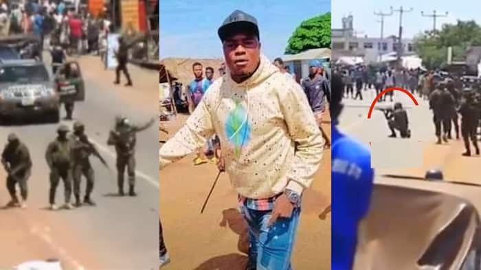 Ejura Clash: One of the youth shot dead by military in Kaaka murder protest identified; sad photos and details pop up