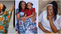 Patience Ozokwo twins with lookalike grandchild in adorable photos as they mark birthday together for 1st time