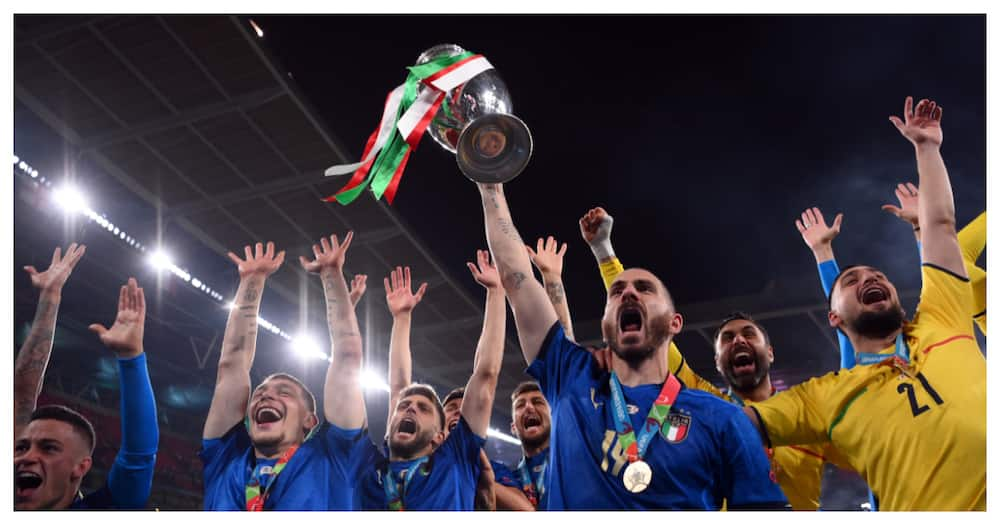 It's Coming To Rome: Bonucci trolls England fans after Euro 2020 win