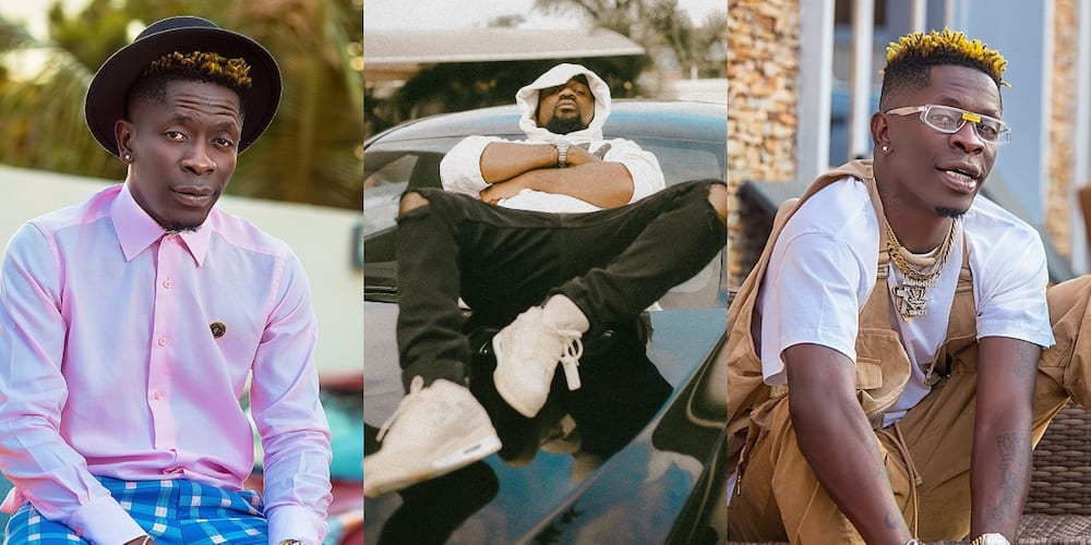 Sark & Shatta Wale spotted having meeting in video following Stonebwoy-Davido link up