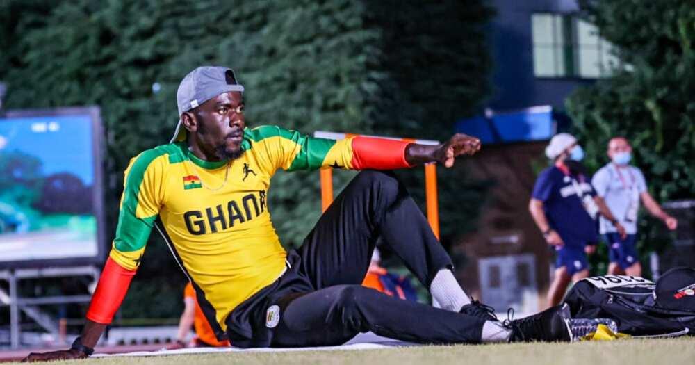 200m runner Joseph Amoah overwhelmed by support from Ghanaians