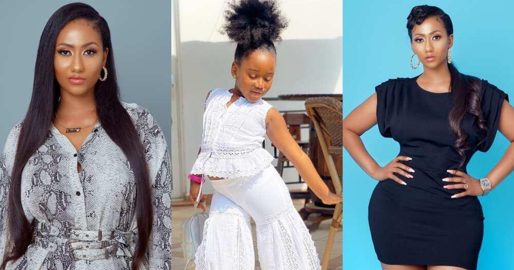 Hajia4Reall's daughter, Naila4Reall gives fashion goals in 4 new photos