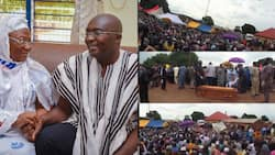 Video drops as thousands attend funeral of Vice President Bawumia's mother