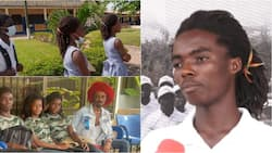 Meet the twin sisters of Achimota 'rasta' boy who have also landed in trouble in school over their dreadlocks