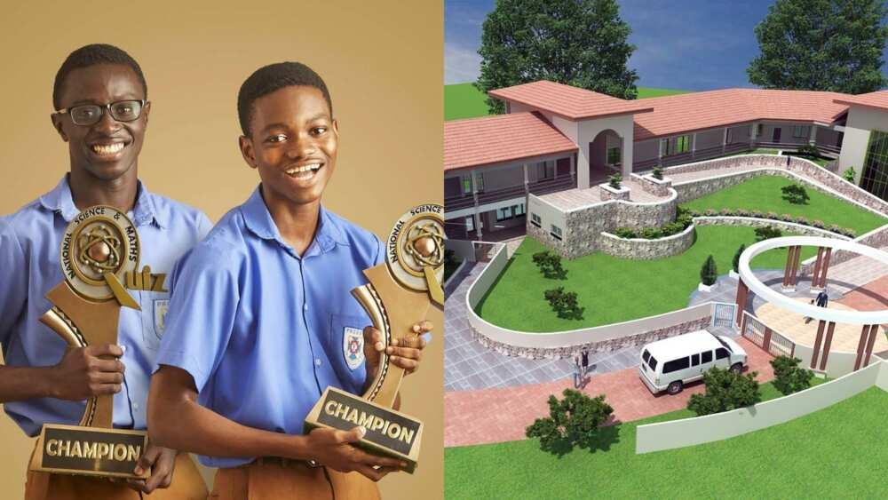 Presec's NSMQ stars Gakpetor & Isaac admitted at Ashesi University