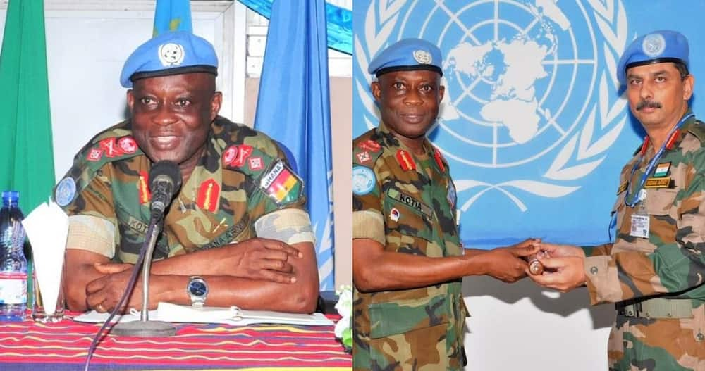 Emmanuel Kotia PhD: Military man who Gives to Needy Promoted to 3rd-Highest rank Major-General in Ghana