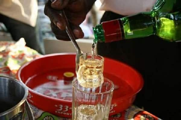 Mason dies in alcohol drinking competition