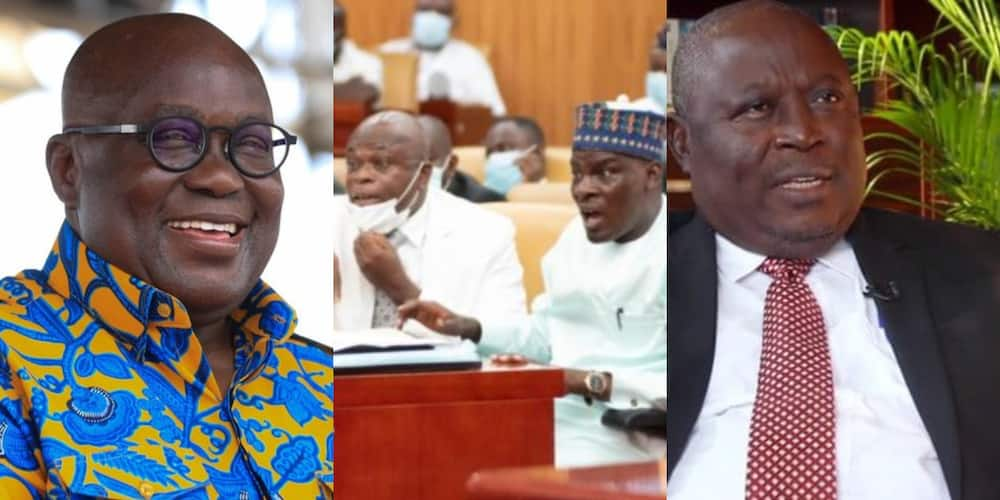 NDC MPs were blackmailed to pass Akufo-Addo's ministers with double salary case - Amidu